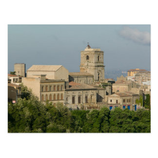 Italy, Sicily, Enna, Town View from Rocca di 2 Postcard