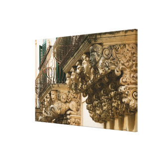 ITALY, Sicily, NOTO: Finest Baroque Town in Stretched Canvas Prints