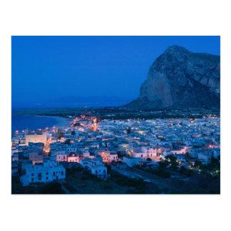 Italy, Sicily, SAN VITO LO CAPO, Resort Town Postcard