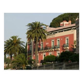 ITALY, Sicily, TAORMINA: Hotel Schuler Postcard