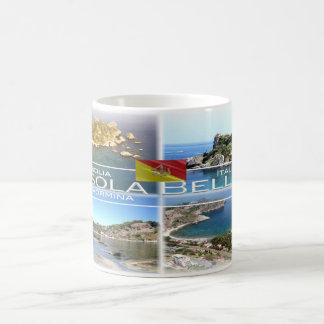 Italy - Sicily - Taormina - Isola Bella - Coffee Mug
