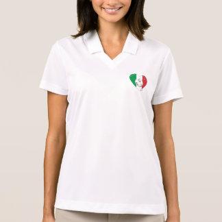 "Italy Soccer Team. Soccer of ""ITALY"" 2014 Polo T-shirt"