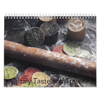 Italy Taste and Travel 2009 Wall Calendar