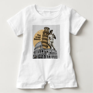 Italy, The Great Beauty Baby Romper