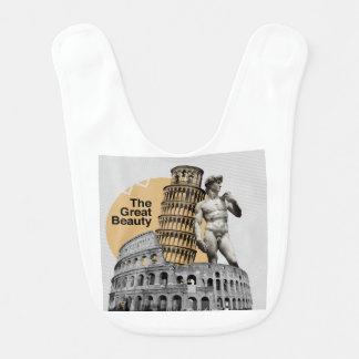 Italy, The Great Beauty Bib