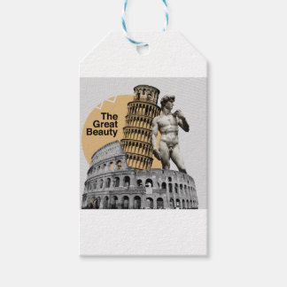 Italy, The Great Beauty Pack Of Gift Tags