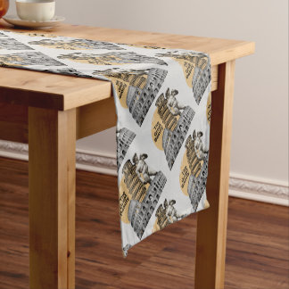 Italy, The Great Beauty Short Table Runner