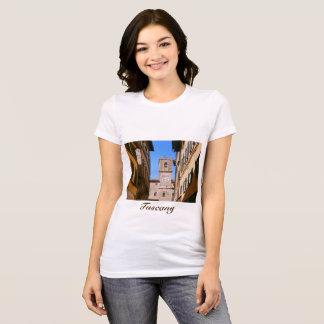 Italy Tuscany Cortona. Town Hall. T-Shirt