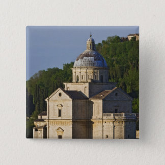 Italy, Tuscany, Montepulciano. Church of San 2 Inch Square Button