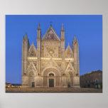 Italy, Umbria, Orvieto, Orvieto Cathedral Print