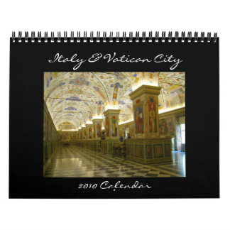 Italy & Vatican 2010 calendar