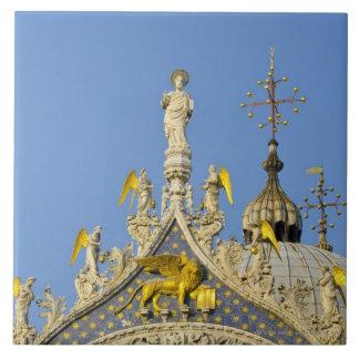 Italy, Veneto, Venice, St. Mark's Basilica Tile