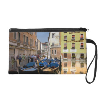 Italy, Venice, gondolas moored along canal Wristlet
