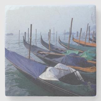 Italy, Venice. Gondolas. Stone Coaster
