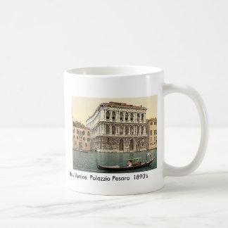 Italy  Venice Palazzo Pesaro  1890's Coffee Mug