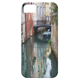 Italy, Venice, Reflections and Small Bridge of iPhone 5 Case