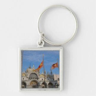 Italy, Venice, St. Mark's Basilica in St. Mark's Keychains