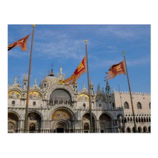 Italy, Venice, St. Mark's Basilica in St. Mark's Postcard