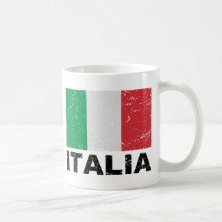 Italy Vintage Flag Coffee Mug