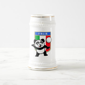 Italy Volleyball Panda Beer Stein