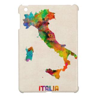 Italy Watercolor Map Italia iPad Mini Cover