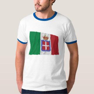 Italy Waving Flag (1861-1946) T-Shirt