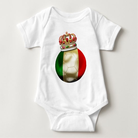 Italy World  Champion Baby Bodysuit