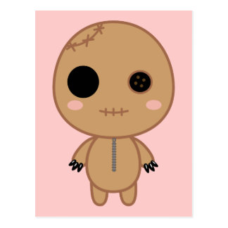 Itami the Voodoo Doll Postcard