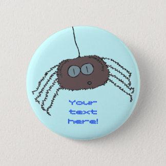 Itchy spider 2 inch round button