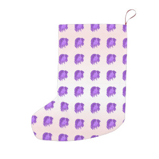 ITD Blurberries and Cream Small Christmas Stocking