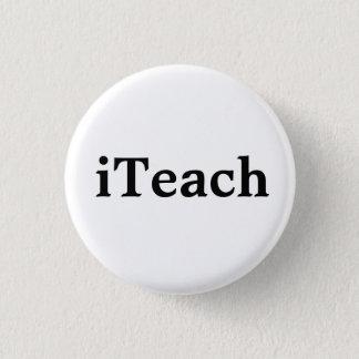 iTeach 1 Inch Round Button