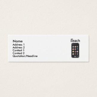 iteach business card