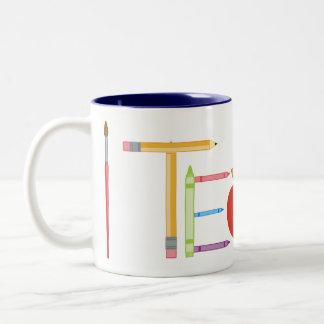 iTeach Two-Tone Coffee Mug