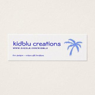 item tag or mini busines card