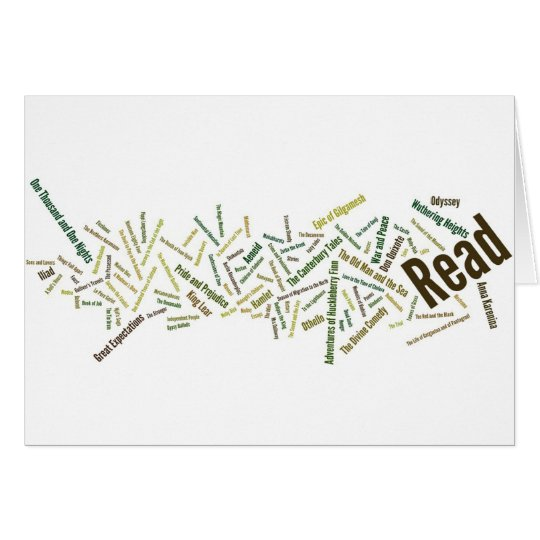 Items for Serious Readers! Card