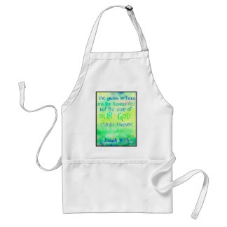Items with colorful scripture design standard apron