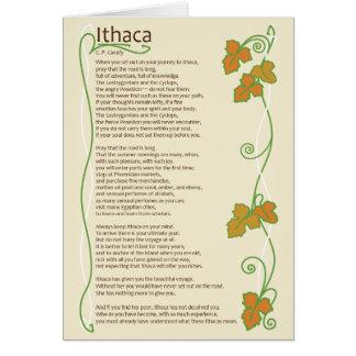 Ithaca Card - Blank inside