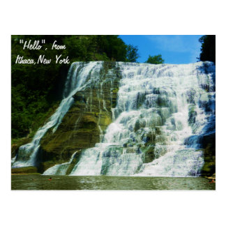 ITHACA, FALL CREEK postcard