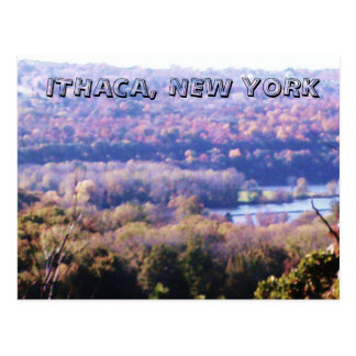 ITHACA, NEW YORK postcard