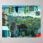 ITHACA NEW YORK poster
