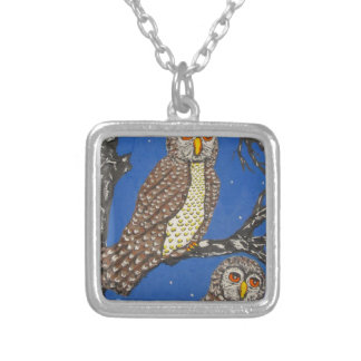 IThe Watchers Of The NightMG_0248.JPG Silver Plated Necklace