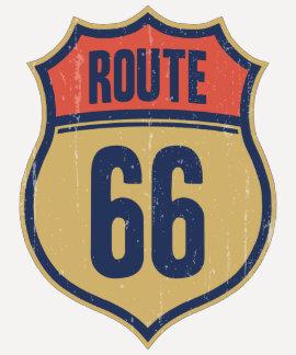 Itinéraire 66 -1014 t-shirts