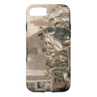 Itinerant Musicians playing in a poor part of town iPhone 7 Case