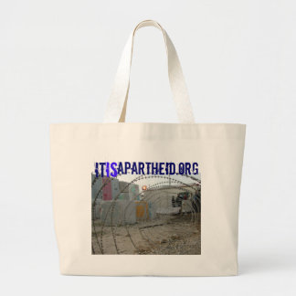 itisApartheid.org hand bag