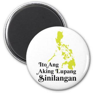 Ito Ang Aking Lupang Sinilangan - Philippines 2 Inch Round Magnet