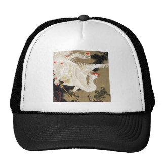 itō, jakuchū and old pine tree white 鳳 figure trucker hat