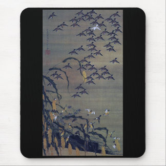 Itō Jakuchū, Itoh young 冲, fall the 塘 group Mouse Pad