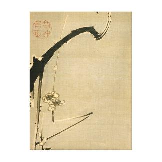 Ito Jakuchu Plum Blossoms Canvas Print