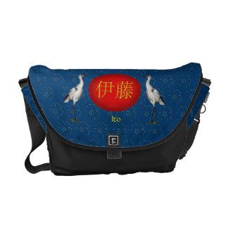 Ito Monogram Crane Commuter Bags
