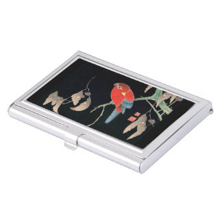 Itoh it is young 冲 'in the 櫟 鸚 哥 figure business card cases